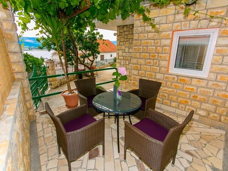 Ferienwohnung Ferienwohnungen Jakov, Apartman A2+1 (1847462), Arbanija, , Dalmatien, Kroatien, Bild 24