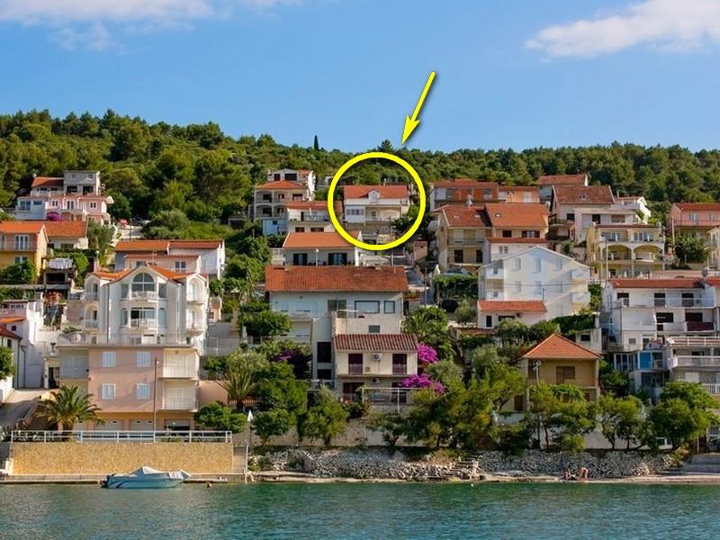 Ferienwohnung Ferienwohnungen Jakov, Apartman A2+1 (1847462), Arbanija, , Dalmatien, Kroatien, Bild 1