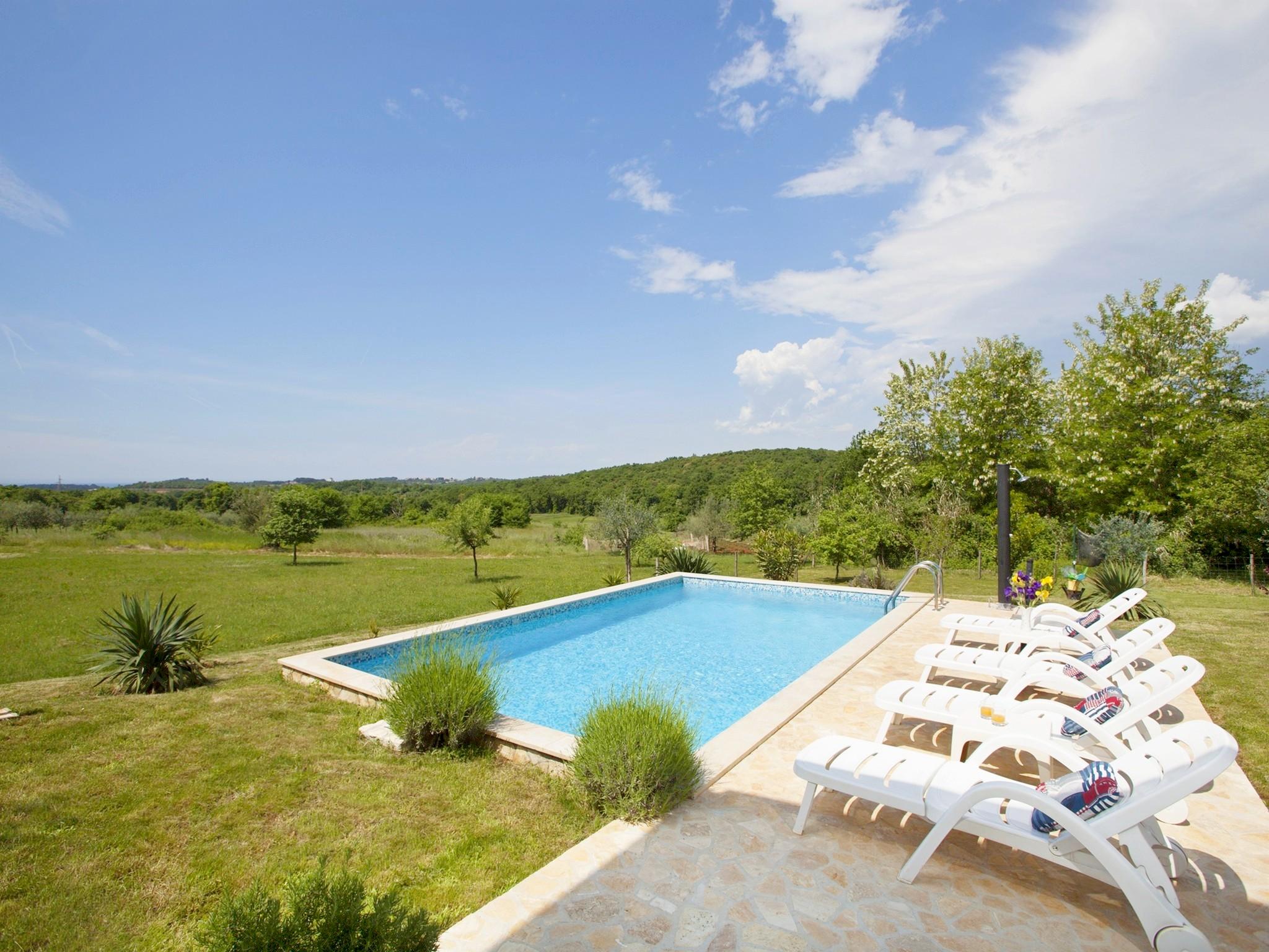 Ferienhaus Bruno, Kua za odmor s bazenom (2204668), Mugeba, , Istrien, Kroatien, Bild 3