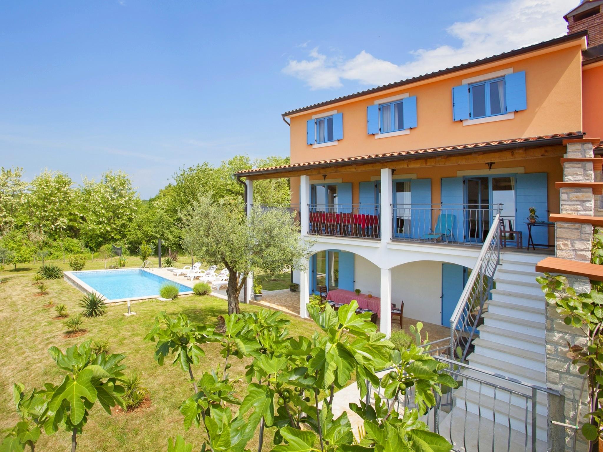 Ferienhaus Bruno, Kua za odmor s bazenom (2204668), Mugeba, , Istrien, Kroatien, Bild 1