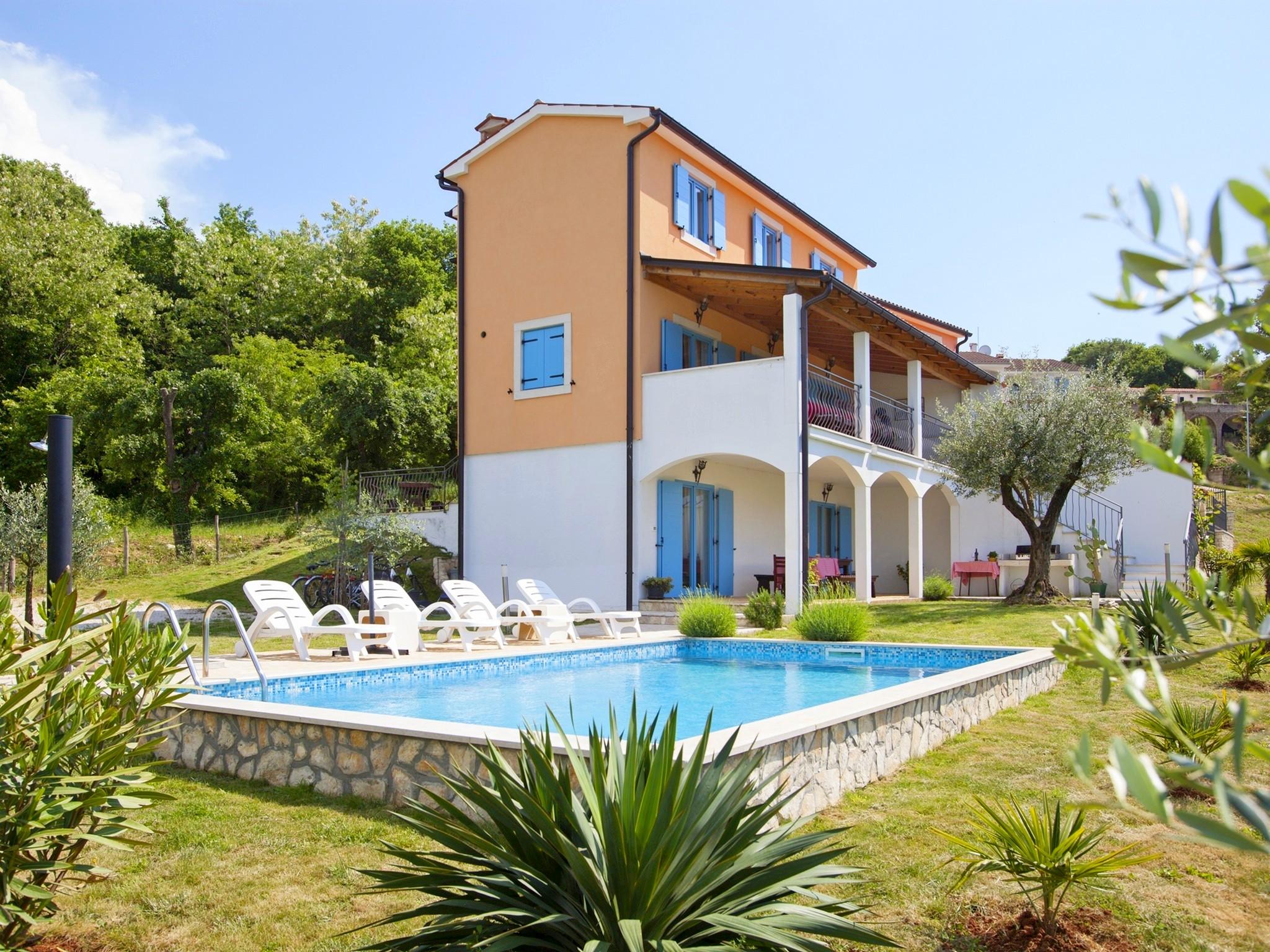 Ferienhaus Bruno, Kua za odmor s bazenom (2204668), Mugeba, , Istrien, Kroatien, Bild 2